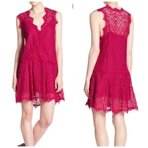 NEW Free People Heart in Two Laces Dress